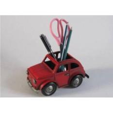 Красный стакан для карандашей Авто Cooper