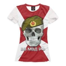 Женская футболка Print Bar ВВ МВД РФ