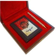 Подарочный набор Обложки на документы и украшенная ручка