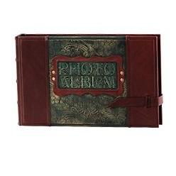 Малый фотоальбом из кожи «Воспоминания»