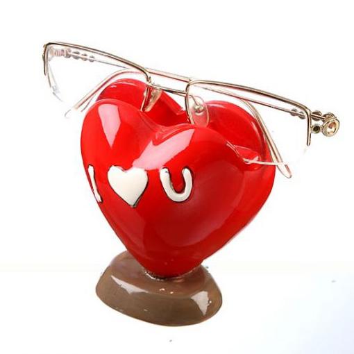 Подставка «Сердце-очкарик»
