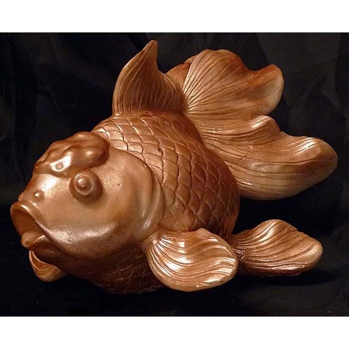 Фигурка из шоколада «Золотая рыбка»