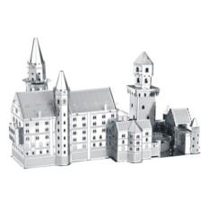 3D пазл из металла Немецкий замок Нойшванштайн