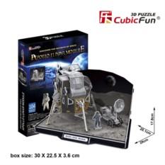 3D пазл Cubic Fun Лунный модуль корабля Аполлон