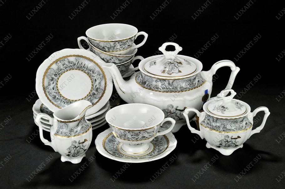 Фарфоровый чайный сервиз Eden