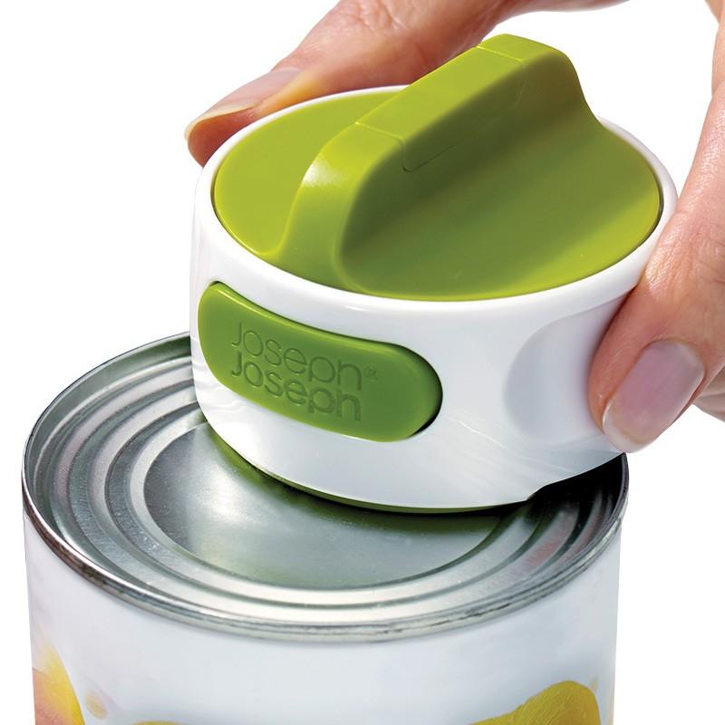 Консервный нож Can-Do™, белый/зеленый