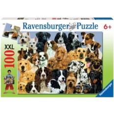 Пазл Ravensburger Парад собак, 100 элементов