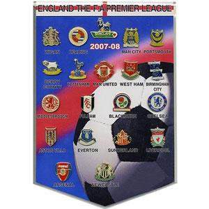 Плашка «Англия» Премьер-Лига 2007-08