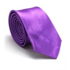 Узкий галстук (лиловый)