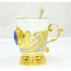 Кофейная чашка Лазурит