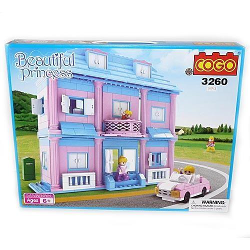 Конструктор Cogo Дом принцессы, 500 деталей