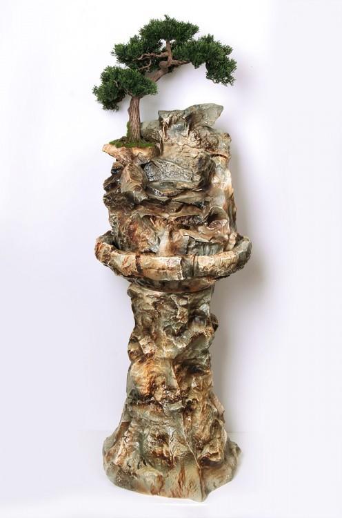 Напольный фонтан Горное дерево