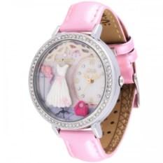 Розовые наручные часы для девочки Mini Watch