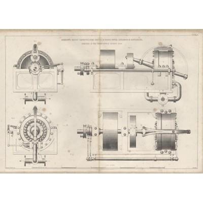 Поршневой 16-и сильный двигатель Бишопа