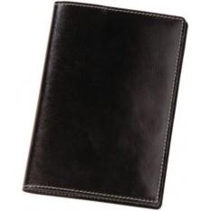 Черная обложка для паспорта Cover
