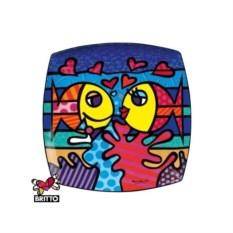 Декоративная тарелка Britto Goebel, коллекция Deeply in Love