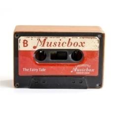Музыкальная коробочка Retro Cassette Swan Lake Red