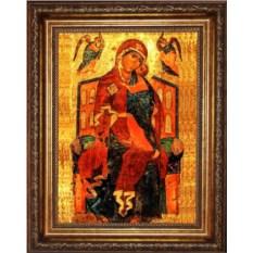 Толгская икона Божьей Матери на холсте