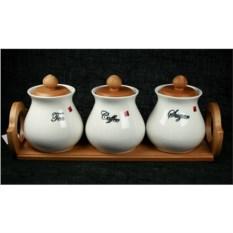 Подарочный набор для хранения кофе, чая и сахара