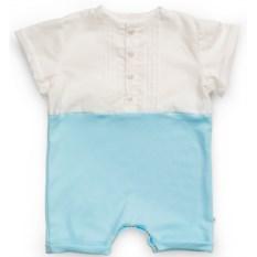 Светло-голубой полукомбинезон для мальчика