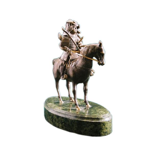Статуэтка «Самурай на лошади»