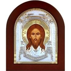Икона в серебряном окладе Спас Нерукотворный