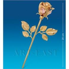 Фигурка с кристаллами Swarovski Роза