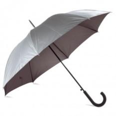Серебристый зонт-трость Unit Wind