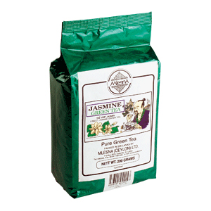 Чай зеленый с ароматом жасмина