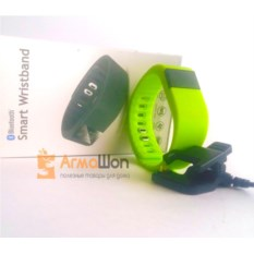 Умные часы Bluetooth Smart Bracelet (цвет - салатовый)