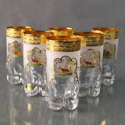 Набор стаканов для воды «Охота»