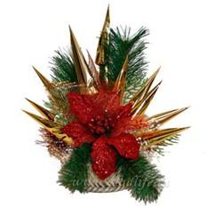 Букет из конфет Рождественская звезда