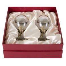 Подарочый набор бокалов для белого вина Лоза