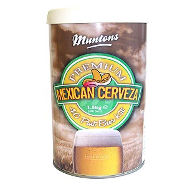 Смесь для пивоварни Muntons Mexican Cerveza 1,5 кг