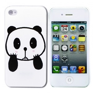 Чехол для iPhone 4/4S Little Panda