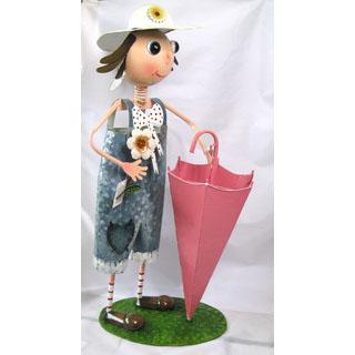 Декоративное украшение Девочка с зонтиком