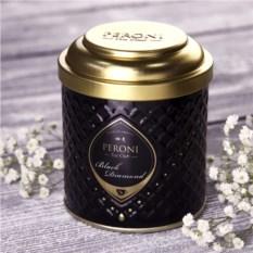 Чёрный байховый крупнолистовой чай Black Diamond Peroni