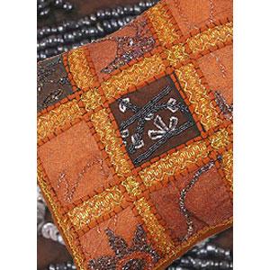 Декоративная наволочка «Персидская Ночь» коричневая