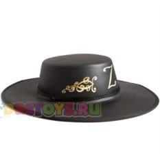 Шляпа карнавальная Зорро
