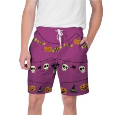 Мужские шорты Happy Halloween