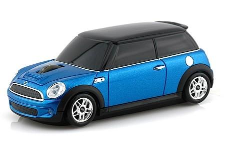 Компьютерная мышь в виде Landmice Mini Cooper S Blue