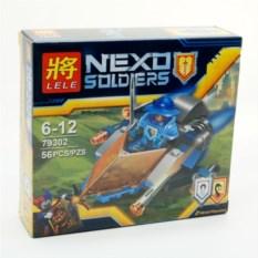 Конструктор Lele Nexo soldiers, 56 деталей