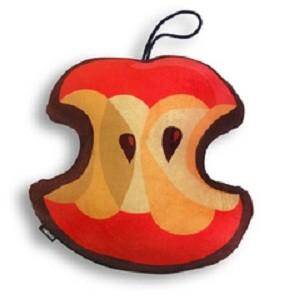 Подушка «Огрызок яблока»