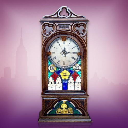 Старинные часы Готика