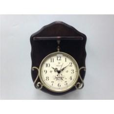 Настенные часы (цвет — коричневый)
