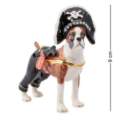 Шкатулка Боксер - пират (Nobility)