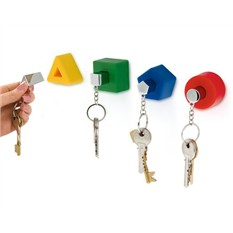Настенные держатели для ключей с брелками Shapes