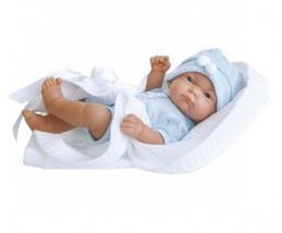 Кукла-младенец Рамон в голубом