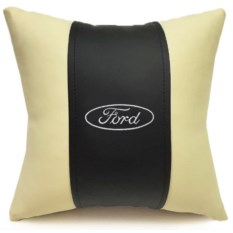 Декоративная подушка из экокожи Ford