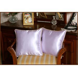 Шелковые подушки «Сиреневые»